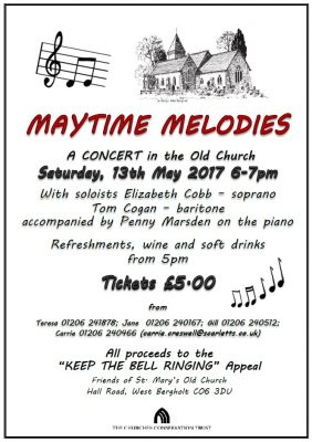 Maytime Melodies Flyer