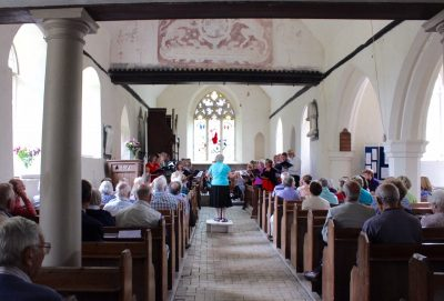 Comrie Singers in Old Church