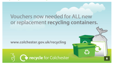 Vouchers needed for recycling containers