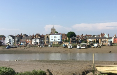 Wivenhoe Quay viewed from High Park Corner